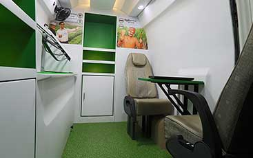 PSV Modifed Force Traveller Rivulis Interior Modification Advertising Vans