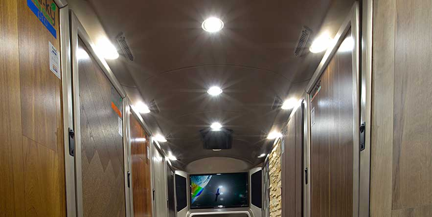 PSV Modifed Force Traveller Showroom on Wheels