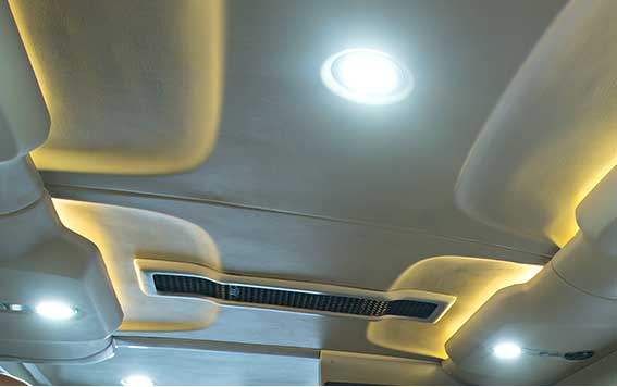 PSV Opisia Modified Force Tempo Traveller Business Vans Lighting