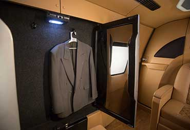 PSV Opisia Modified Tempo Traveller Business Vans Interior Cubboard