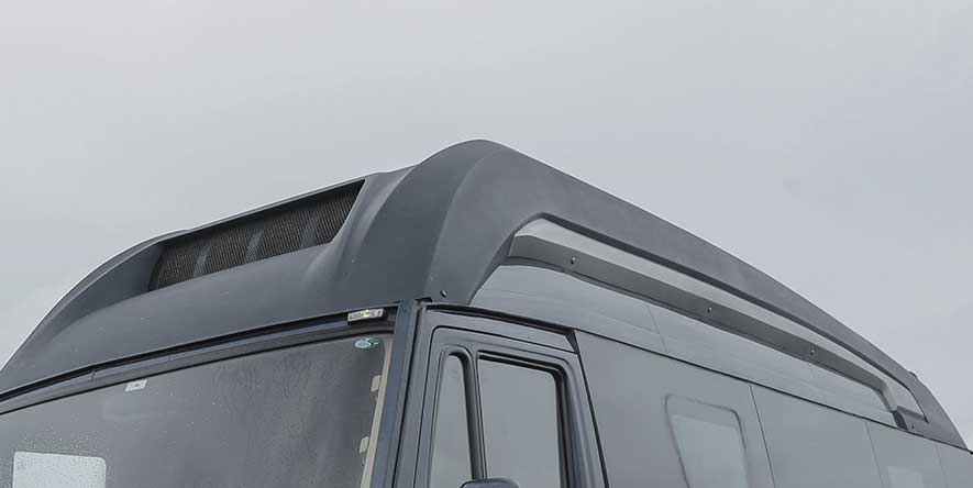PSV Modified Tempo Traveller Exterior Roof Clading