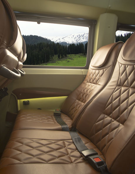 PSV Modified Tempo Traveller Recliner Seats