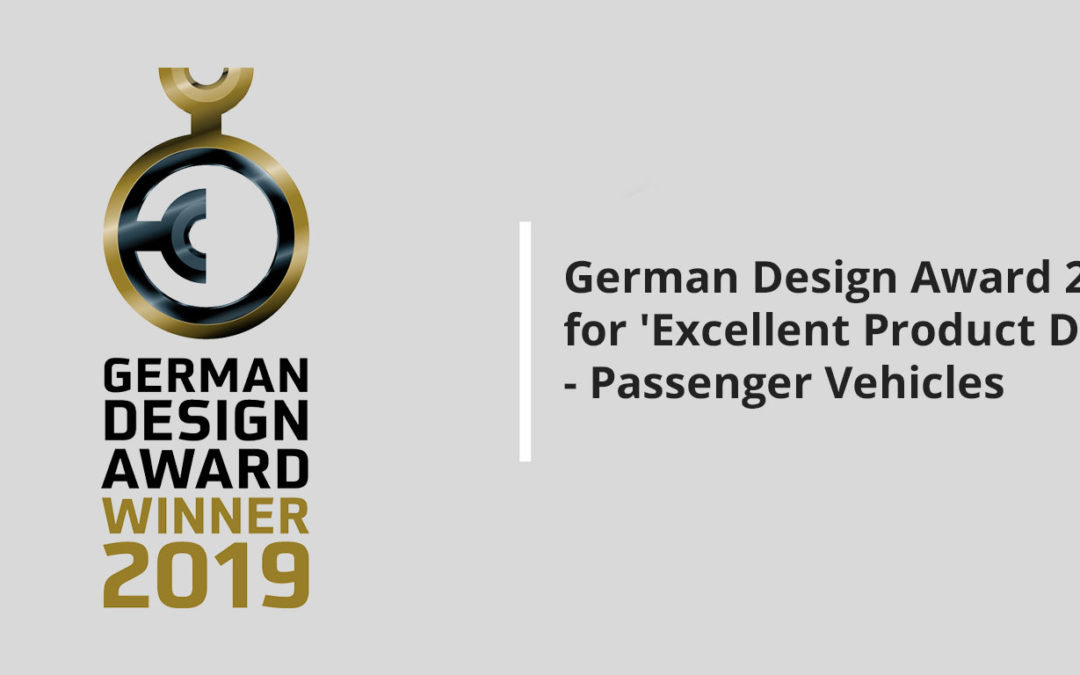 Pinnacle Finetza Wins German Design Award 2019 for 'Excellent Product Design